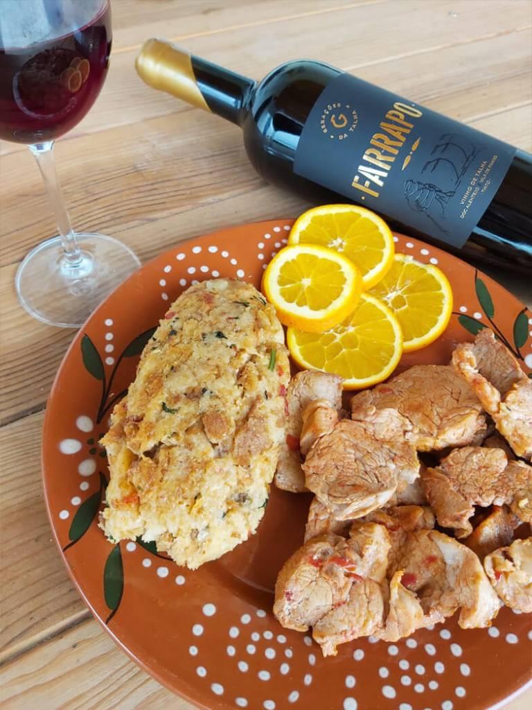 Vinho Talha Farrapo Migas Gourmet